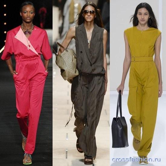 8af0088b16aa Crossfashion Group - Модные комбинезоны весна-лето 2016  от денима и  трикотажа до кружева и шелка