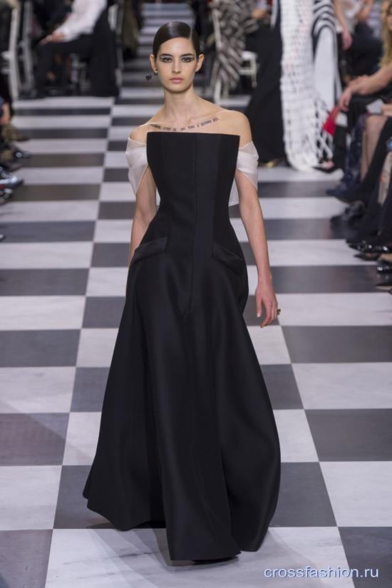 Christian Dior коллекция Haute Couture весна-лето 2018