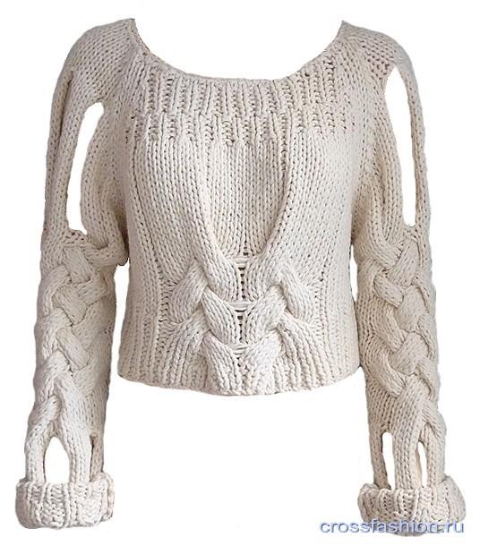 Осинка Пуловер