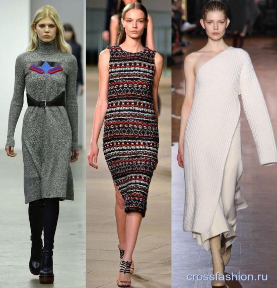 Трикотажные жакеты на платье