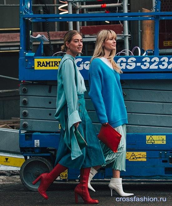 Street style Недели моды в Стокгольме, январь 2018