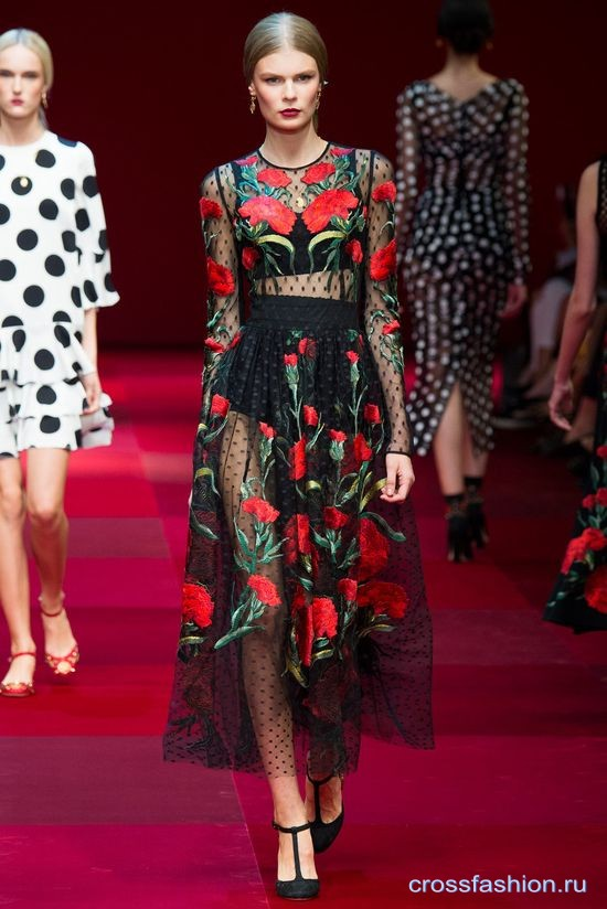 Crossfashion Group - Dolce & Gabbana весна-лето 2015