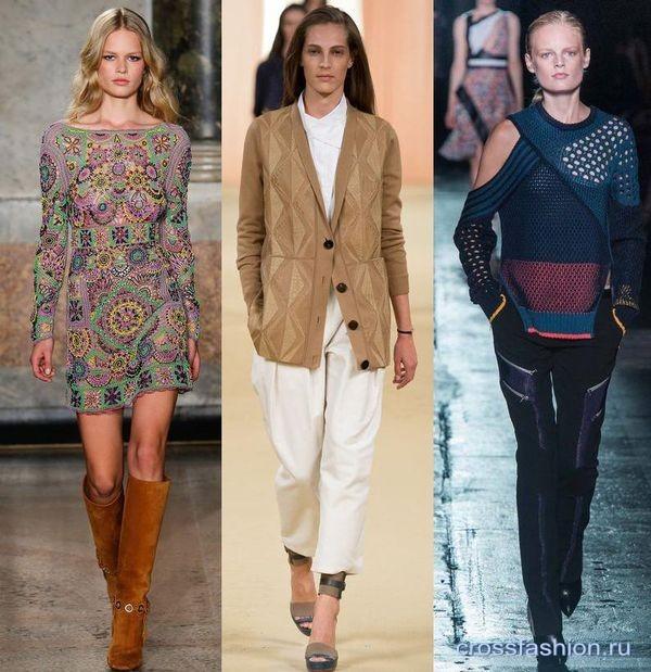 модный трикотаж весна-лето 2015