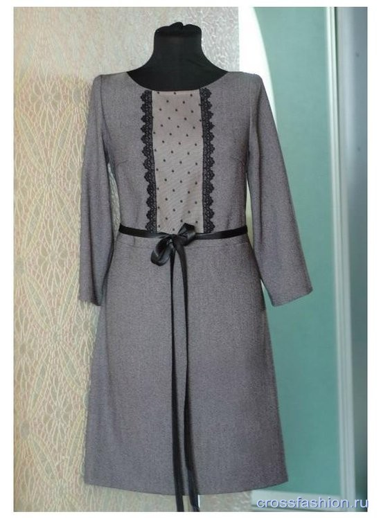 Платье для офиса сшить 2