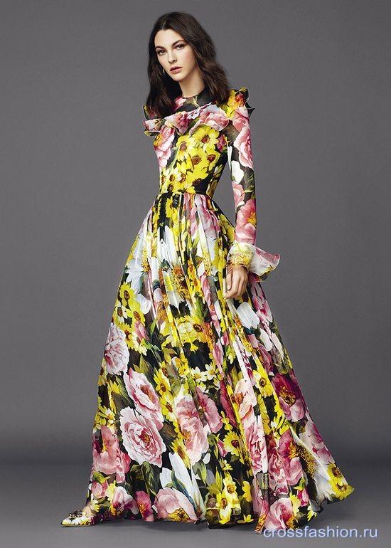 Crossfashion Group - Dolce&Gabbana коллекция женской одежды весна