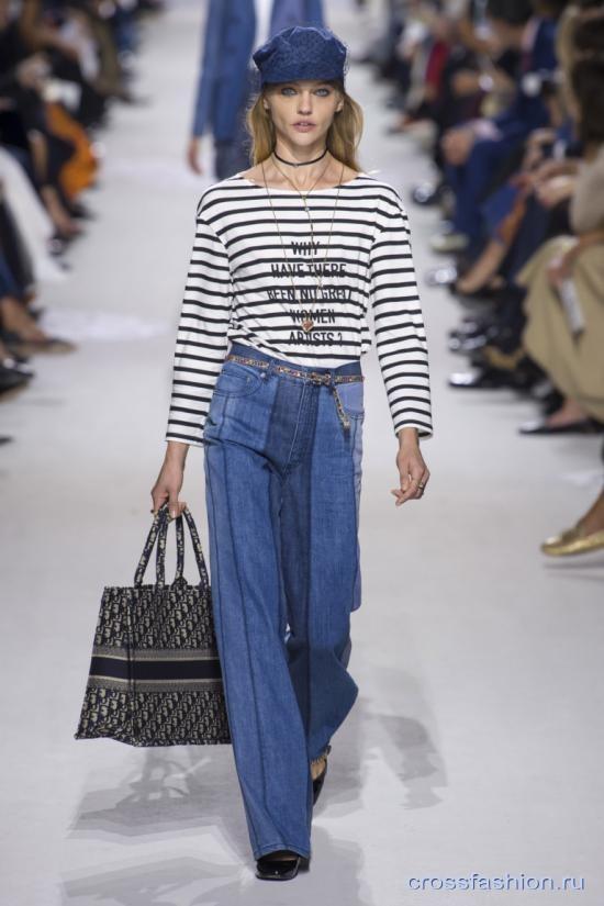 Christian Dior коллекция весна-лето 2018