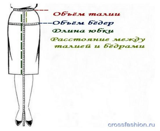 Как сшить карандаш юбку своими руками 22
