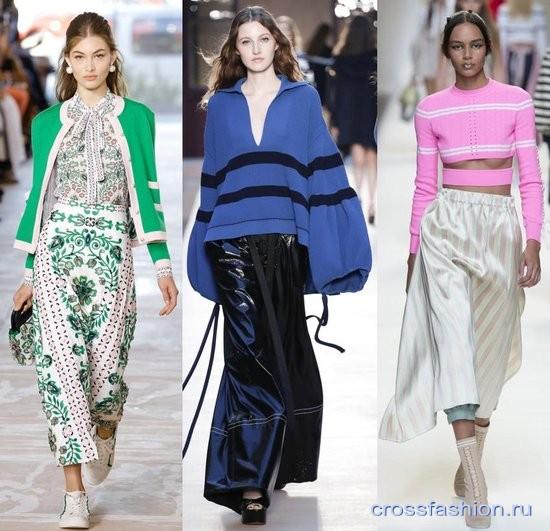 Мода Весна - Лето 2017 Вязанные Вещи
