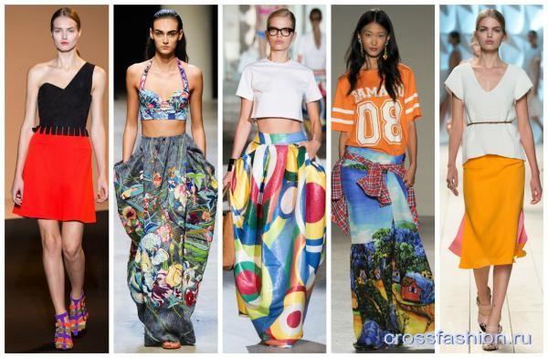 Мода Юбки Лето 2015