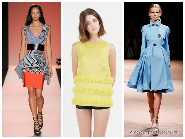 49e42706f77b Crossfashion Group - Модные цвета весна-лето 2015  палитра нежности и  женственности