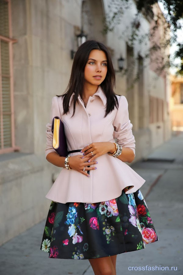 Ted baker floral skirt vivaluxury