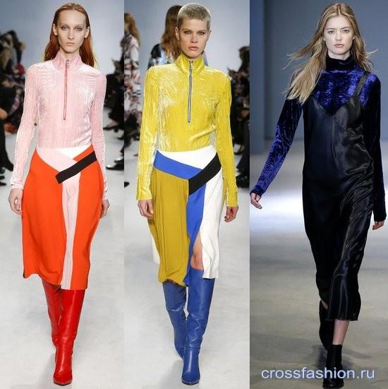 Модный бархат осень-зима 2016-2017 Водолазки