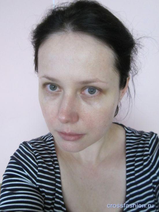 Фото дневного макияжа для карих глаз после 35 лет