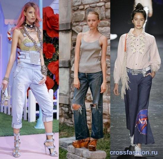 Мода джинсы весна 2017 доставка
