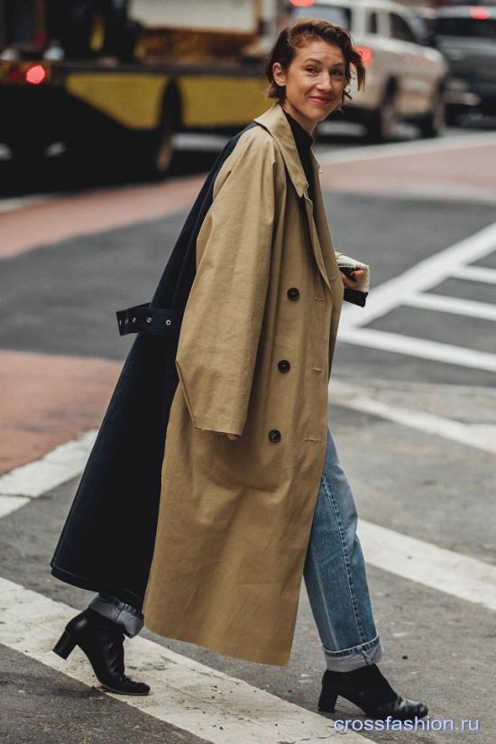 Неделя моды в Нью-Йорке февраль 2018: Street Style часть 2