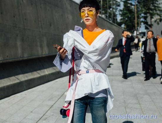 Мода Южной Кореи: Street style Недели моды в Сеуле, октябрь 2017