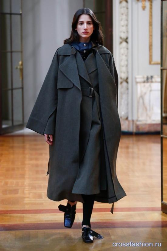 Victoria Beckham коллекция осень-зима 2018-2019