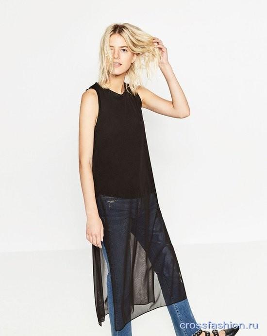 С чем носить прозрачное платье-сетку? Подборка фото и советы