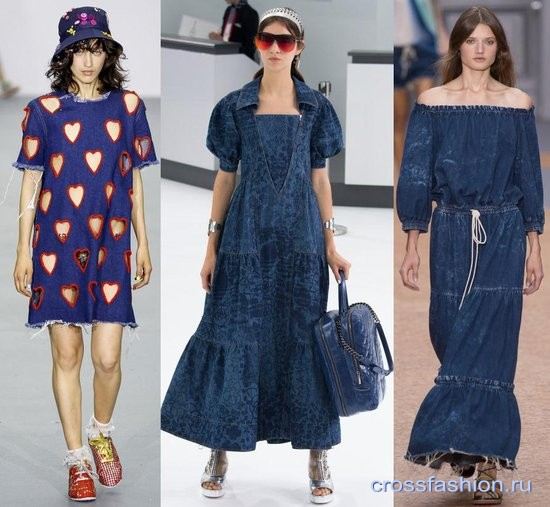 Платья юбки весной