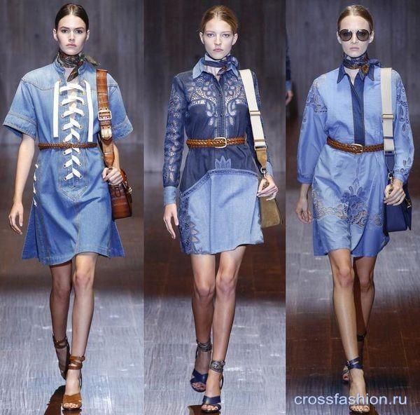 Коллекция платьев джинс