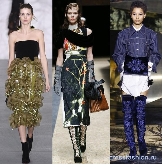 Модный бархат осень-зима 2016-2017 Обувь