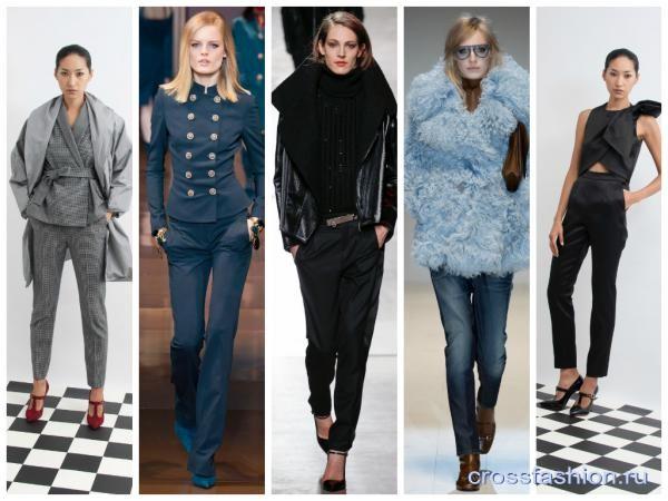Crossfashion Group - Модные брюки осень-зима 2014-2015: все