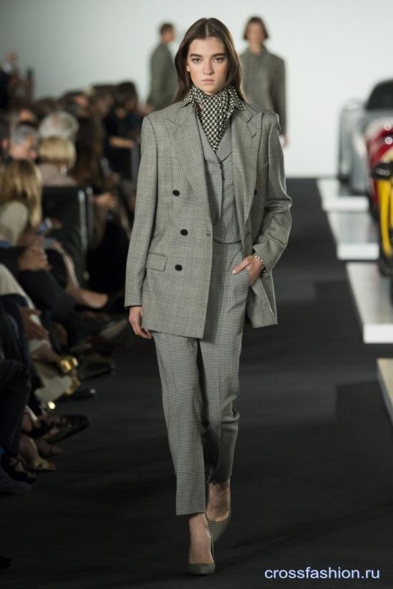 Ralph Lauren коллекция женской одежды осень-зима 2017-2018
