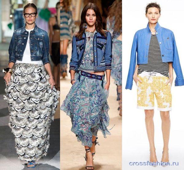 Модные тенденции осень-зима 2015/2016 модные джинсы фото