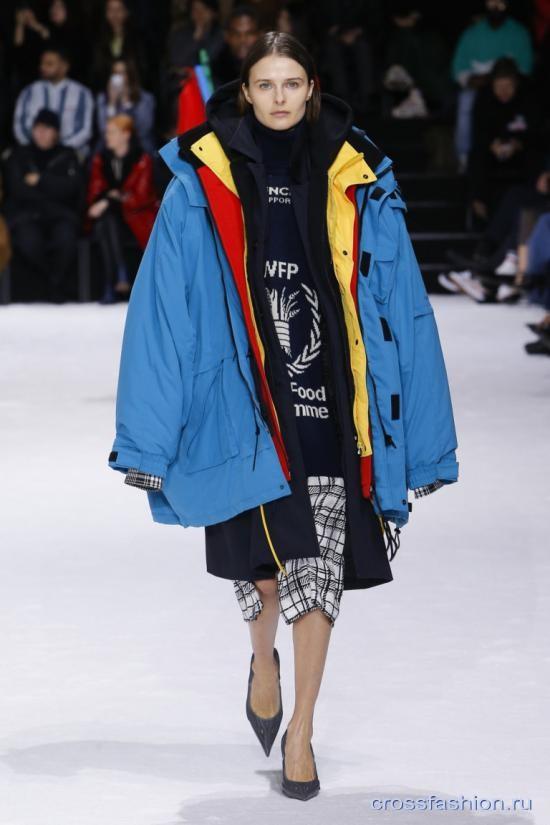 Balenciaga коллекция мужской и женской одежды осень-зима 2018-2019