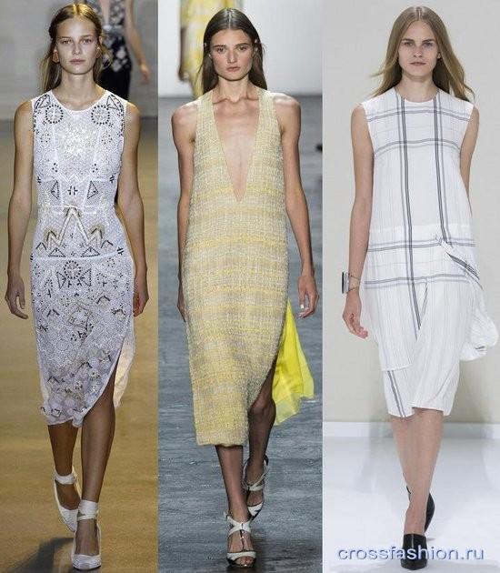 Модели платьев весна лето