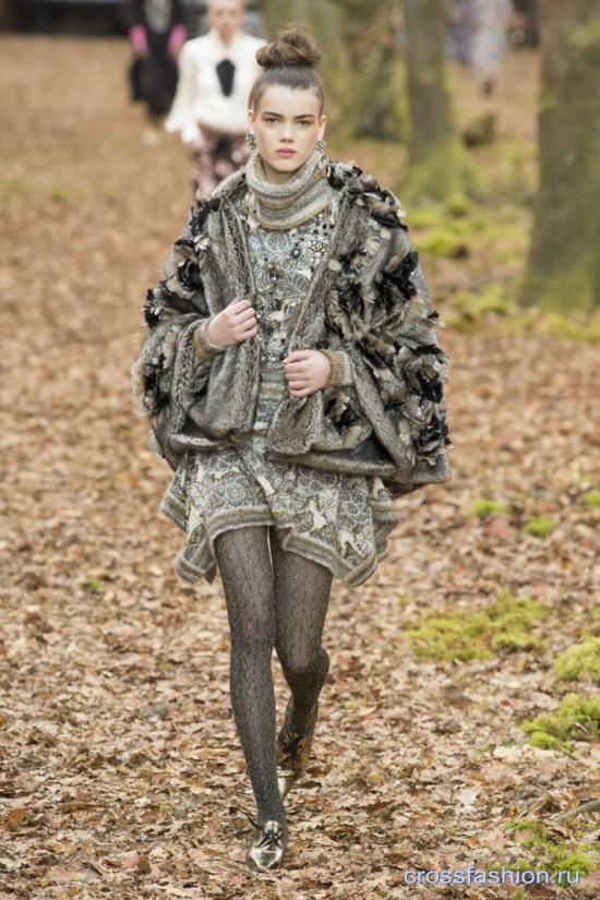 Chanel коллекция осень-зима 2018-2019