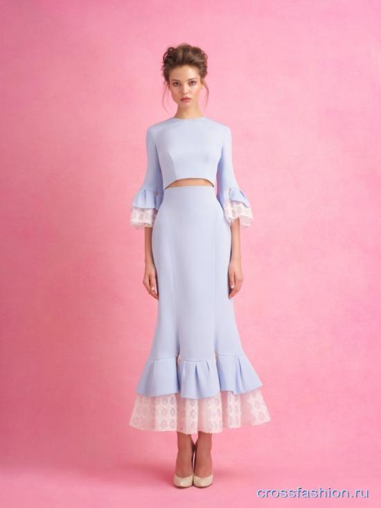 Ulyana Sergeenko коллекция Haute Couture весна-лето 2018 и о расистском скандале