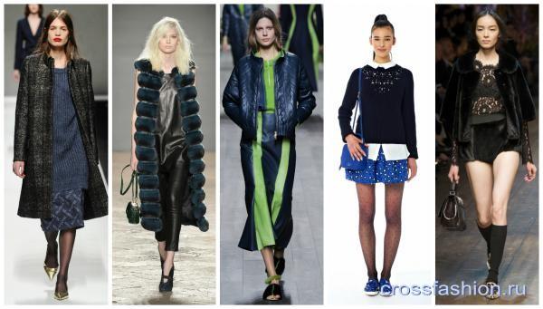 модная одежда осень зима 2014 2015