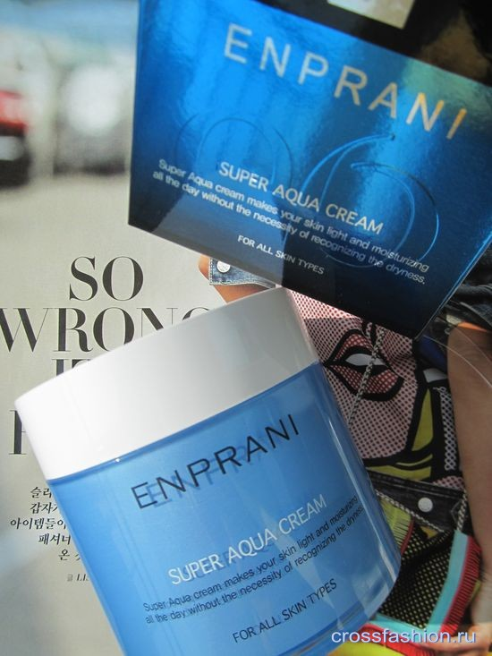Крем для лица Enprani Super Aqua Cream