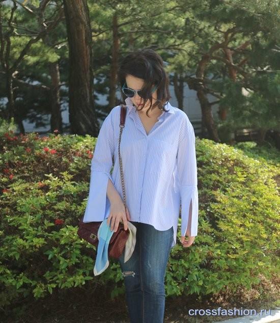 Стиль без моды — деньги на ветер! Размышления по теме и look с рубашкой оверсайз