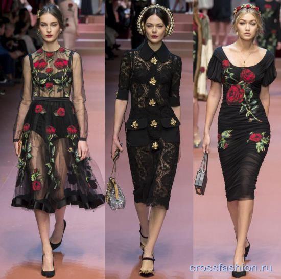 Модные этой осенью фасоны платьев