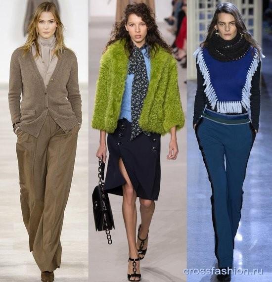 шарфы 2016-2017 года модные тенденции фото