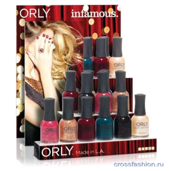 Orly Infamous Collection зима 2015-2016