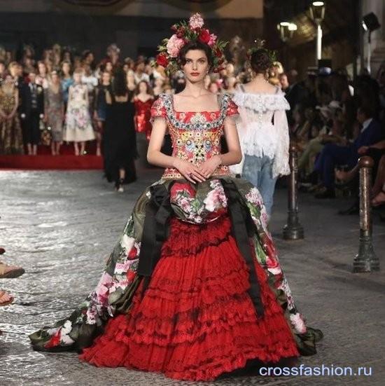 0027de74032 Crossfashion Group - Dolce   Gabbana коллекция Alta Moda осень-зима ...