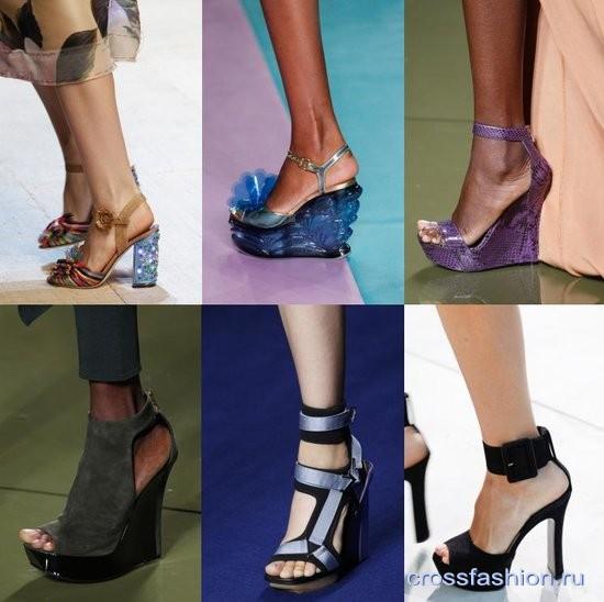 f14a9b75f Модные босоножки, сандалии и шлепки весна-лето 2017: обзор коллекций