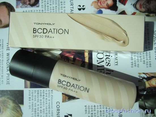 Tony Moly BCDation SPF30 PA++ BB, CC кремы и праймер