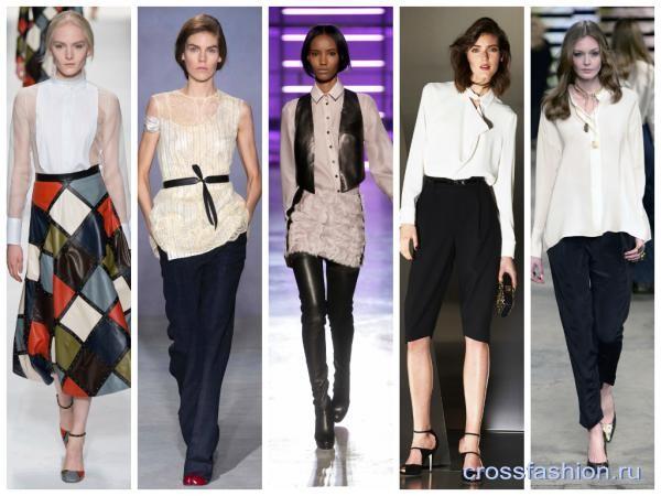 0e38ffe7775 Crossfashion Group - Модные рубашки и блузы осень-зима 2014-2015 ...