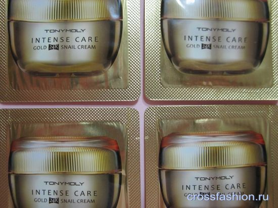 Intense Care Gold 24K Snail Cream Tony Moly