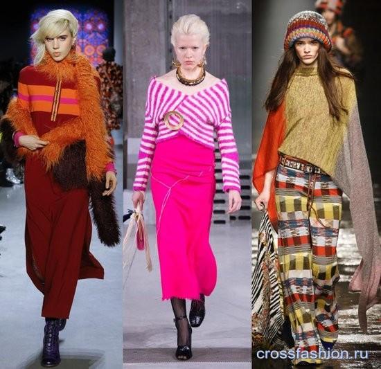 Тренды осень-зима 2019. Трикотажные изделия, обувь, аксессуары. Модные тенденции рекомендации