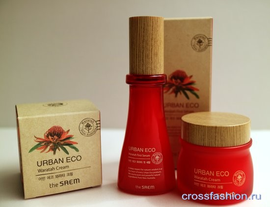 The Saem Urban Eco Waratah Крем и серум для лица с экстрактом телопеи