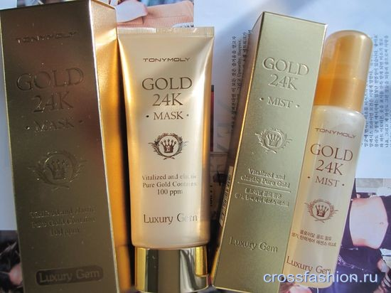 Luxury Gem Gold 24 Mask Tony Moly