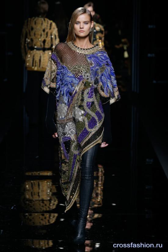 Balmain коллекция женской одежды осень-зима 2017-2018