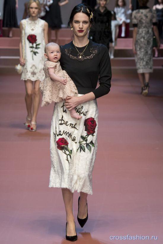 1005502e8dd Crossfashion Group - Dolce   Gabbana осень-зима 2015-2016