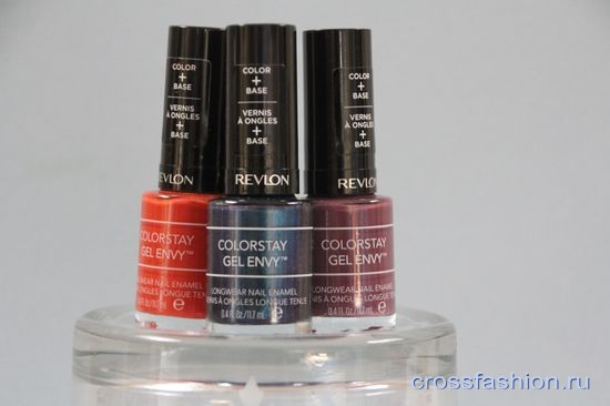 Гель-лак Revlon Colorstay Gel Envy, оттенки 630 Long Shot, 300 All In и 460 Hold'Em