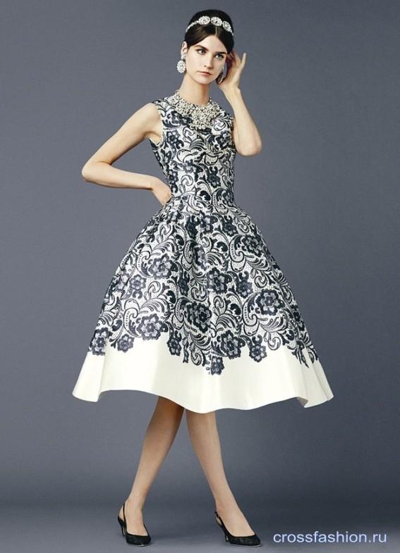 ae7c114929a Crossfashion Group - Dolce   Gabbana коллекция женской одежды весна ...